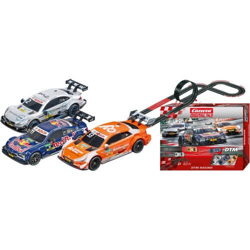 circuit voiture 6 12 ans carrera digital 143 40036 dtm racing 3 voitures 1 43. Black Bedroom Furniture Sets. Home Design Ideas