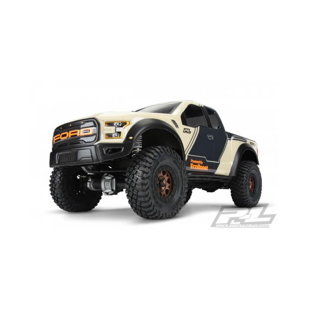 Pro-Line carrosserie 1//16 camion sans peinture FORD f-150 SVT Raptor TRAXXAS 1//16 E-R