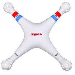 Fuselage complet Blanc SYMA X8C / X8W - Compatible Spyrit Max T5167