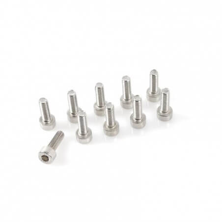 Vis Tete Cylindrique Inox 6 pans M3x16mm (x10)