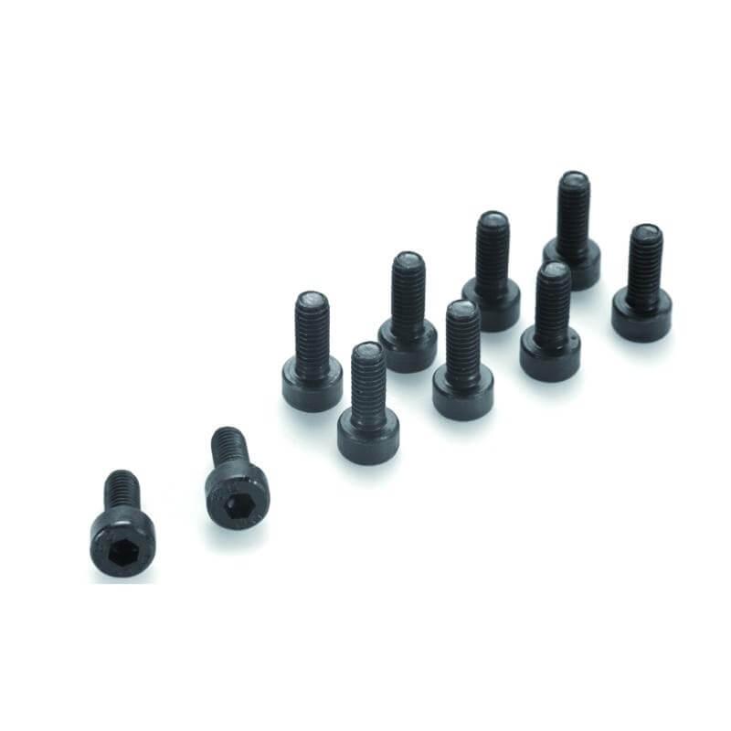 Vis acier Cylindrique 6 pans M5x6mm (X10)