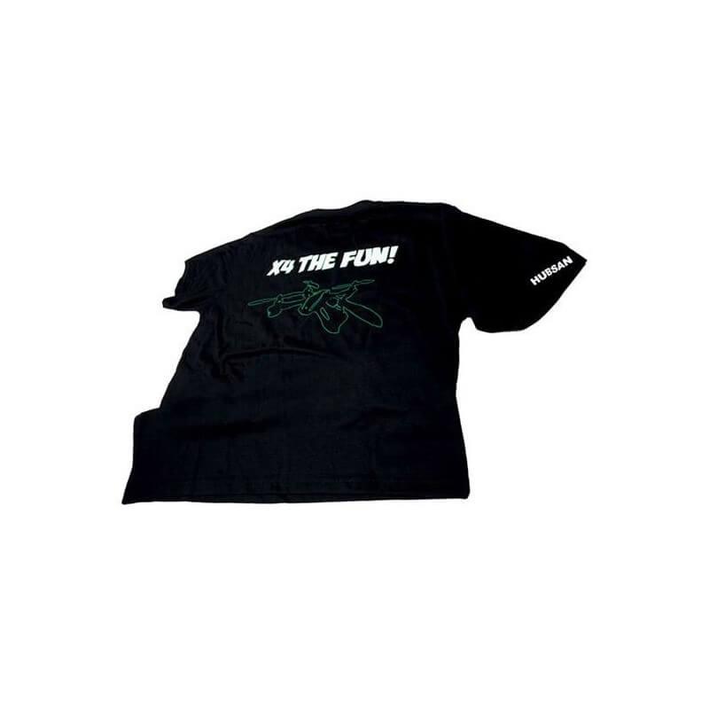 Crash kit Noir-Vert Hubsan X4 H107C - HD avec Tee shirt