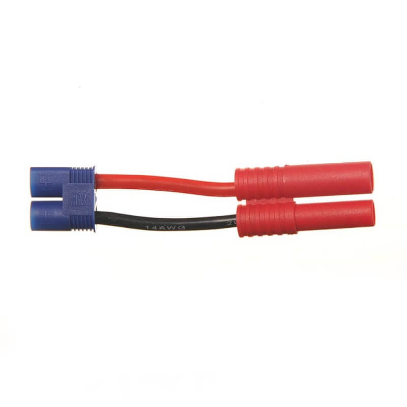 Adaptateur EC3 Méle vers 4.0mm FMS batterie (F) BEEC1510