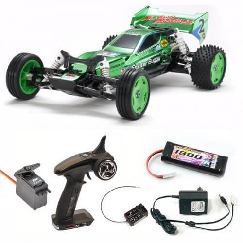 pack voiture kit monter tamiya 47371 neo fighter buggy green metallic radio. Black Bedroom Furniture Sets. Home Design Ideas