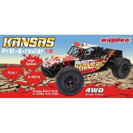 Desert Kansas 1/8 4WD MHD Z600016