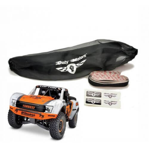 Housse de protection Noire Traxxas Unlimited Desert Racer Dusty Motors