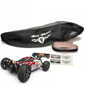 Housse de protection Noire HPI Trophy Buggy/Truggy Dusty Motors