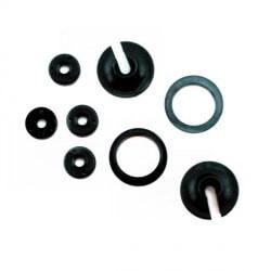 Coupelles d'amortisseurs + molette et piston x2 - Traxxas 3768