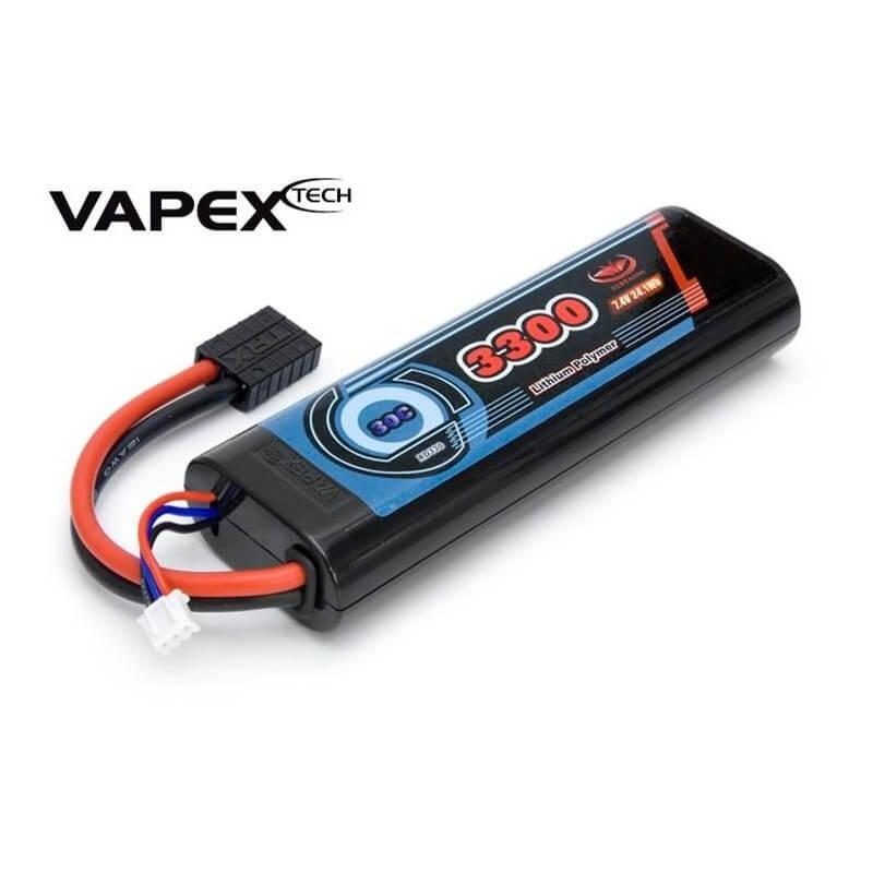 Batterie Lipo 3300mAh 7.4V 30C - Traxxas 1/10