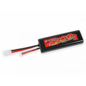 Accu Lipo 2S 7,4V 4200 mAh 40C - Prise Tamiya