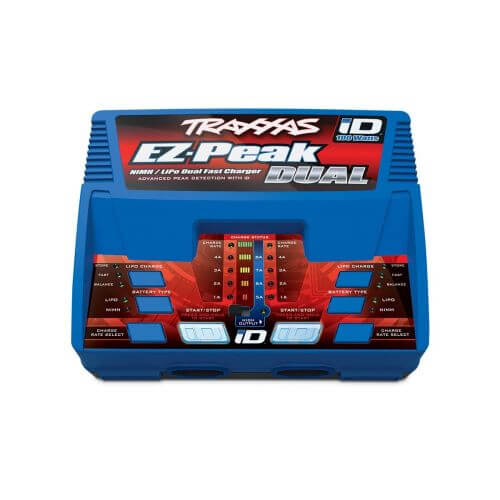 Traxxas Chargeur Rapide DUO Lipo/Nimh iD 100W 2972G