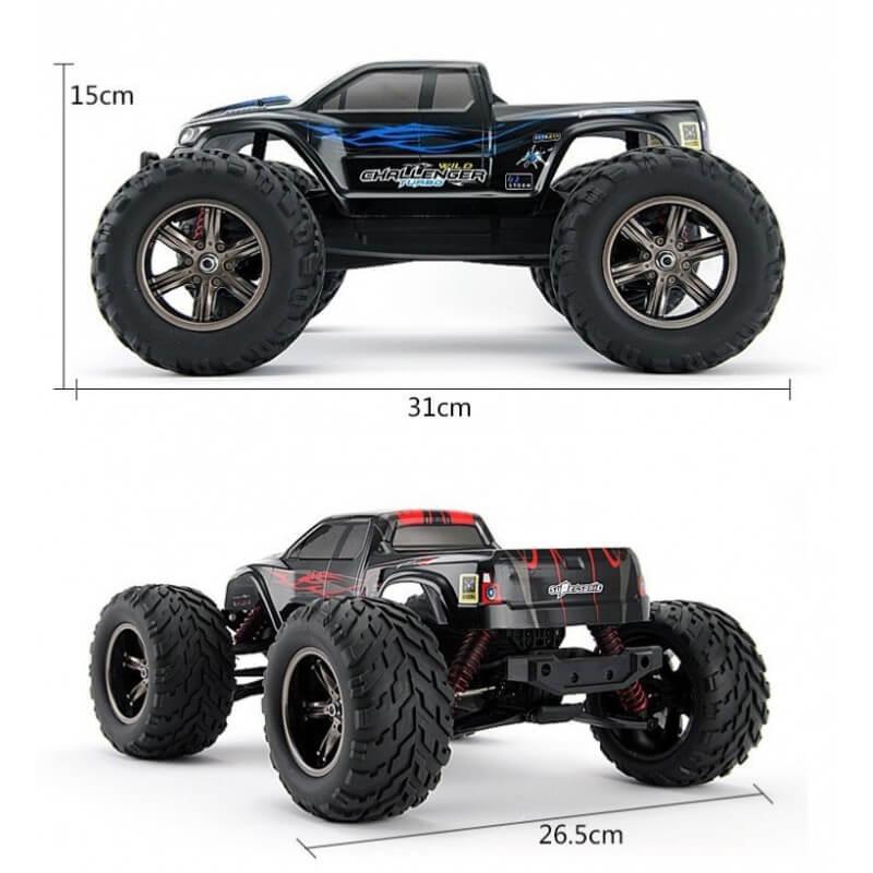 """Monster Truck """"Challenger"""" 2WD 42km/h  (Enfants dés 10 ans)"""