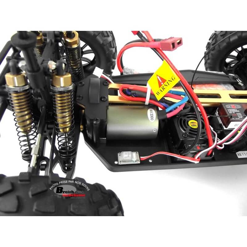 4X4 STORM Brushless 1/10 - 65km/h Waterproof