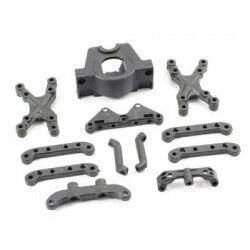 Supports moteur et suspensions FTX SURGE 1/12 - FTX7249