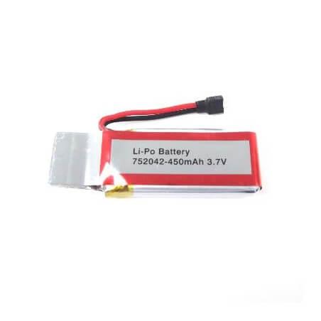 Batterie 3,7V 450mHa pour drone UDI U843