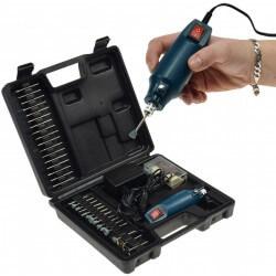 Mini Perceuse Type Dremel 12V - 63 accessoires