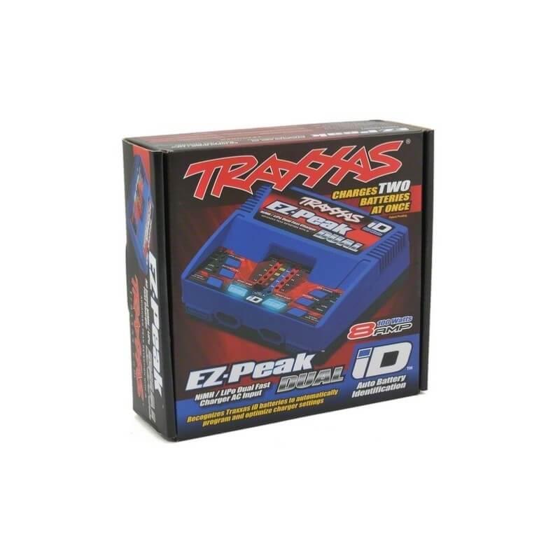 Traxxas Chargeur Rapide Double Sortie Lipo/Nimh iD 100W 2972G