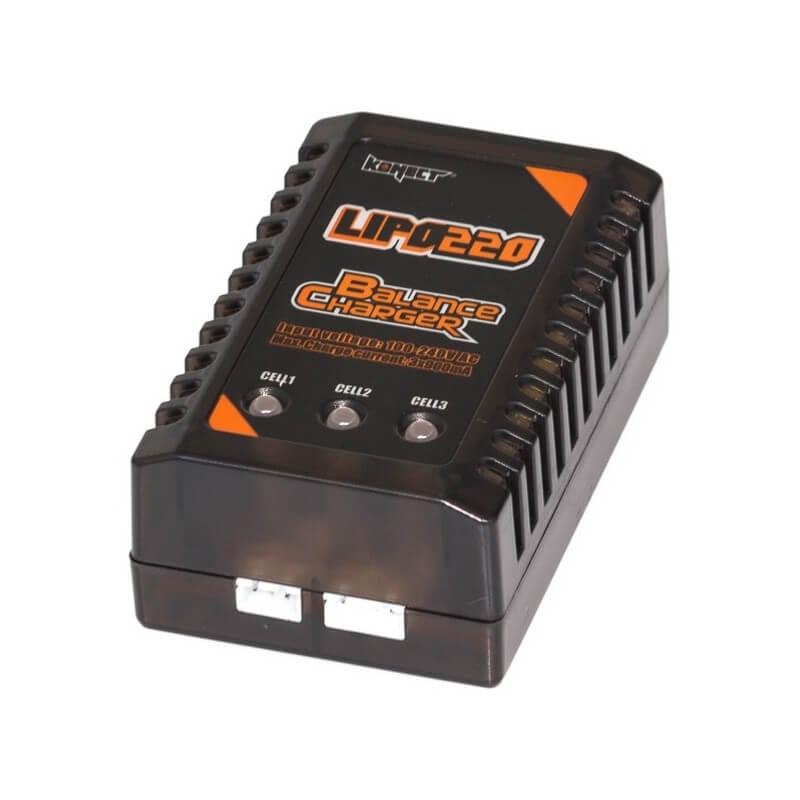 Chargeur LiPo 2S-3S 220V Konect KN-LIPO220