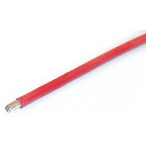 Câble Silicone Souple 1 Mètre rouge 2,5mm² Ø 3.0mm