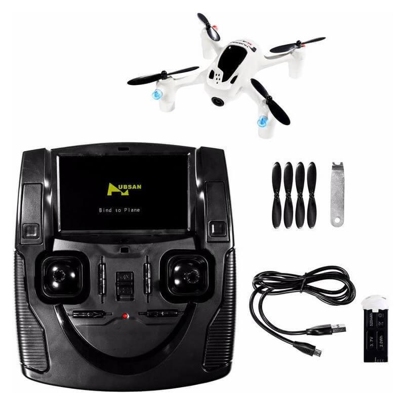 Drone Caméra Hubsan FPV X4 H107D+ Plus caméra HD 720p