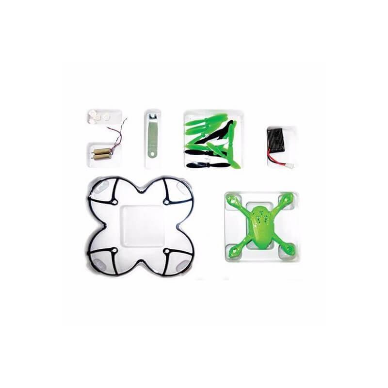 Crash kit Hubsan X4 H108 Vert -  avec Tee shirt