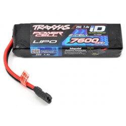 Batterie Lipo 7,4V 7600mAh 25C Traxxas ID 2869X