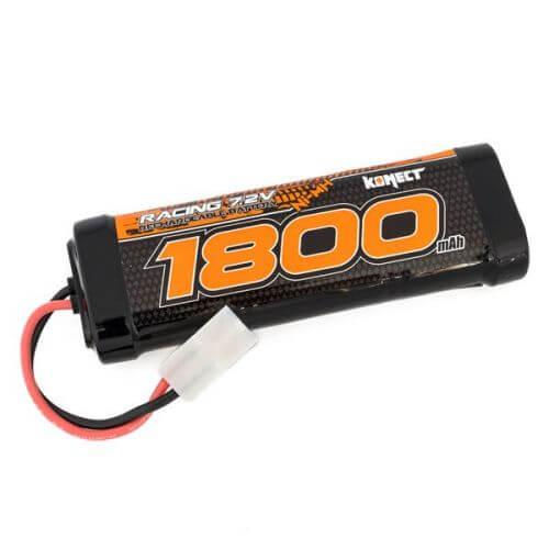 Batterie Ni-Mh Standard 1800mAh 7.2V Prise Tamiya