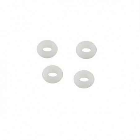 Entretoises plasitques 4x7x2,5mm (4)- Traxxas 5123