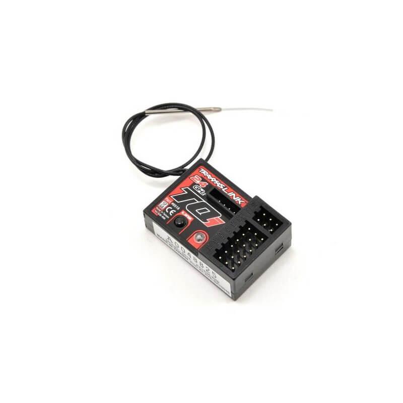 Micro recepteur 5 voies pour émetteurs TQI 2.4 ghz avec telemetrie - Traxxas 6518
