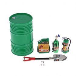 Ensemble d'accessoires Vert pour Crawler RC 1/10