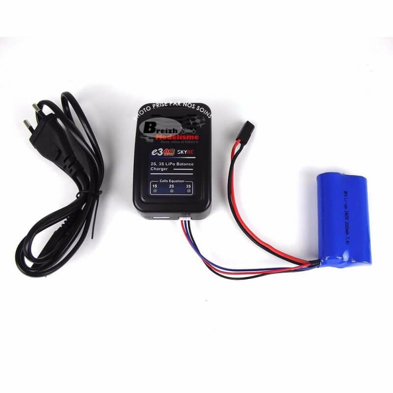 Chargeur pour Accus Lipo 2-3S AC 220V