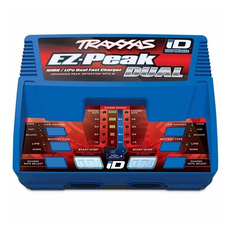 Traxxas 2990G - Chargeur 100W 2972G + 2X Lipo 11.1V 5000mAh 2872X