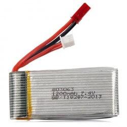 Batterie Lipo 2S 7.4V 1200mAh MJX