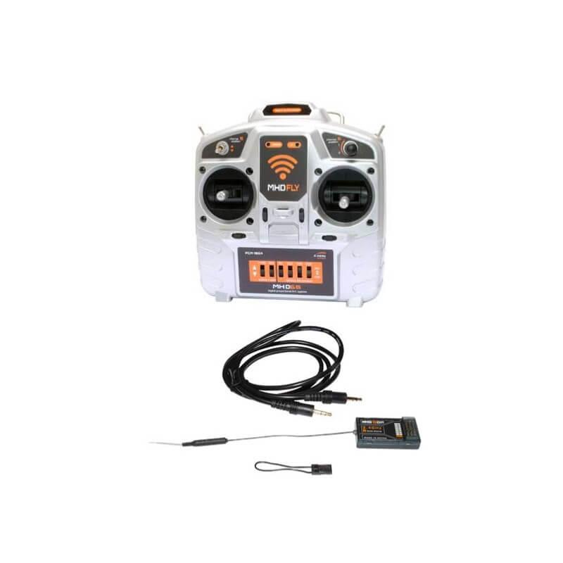 Radio 6 voies MHD6S 2,4 GHz FHSS Mode 2