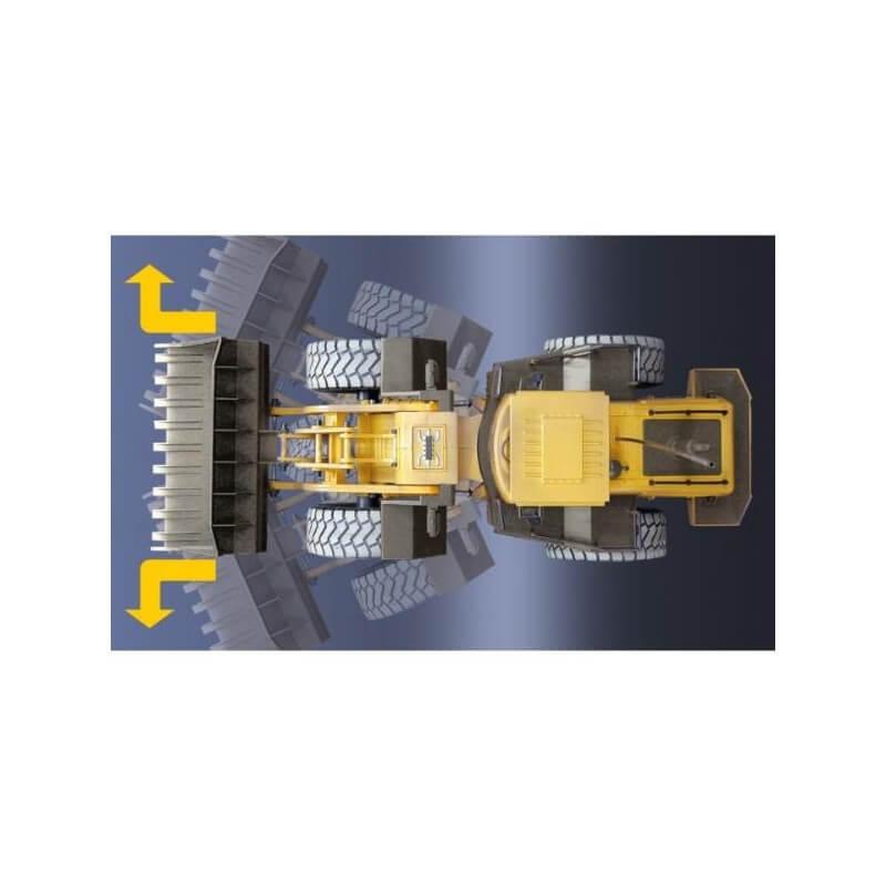 Tractopelle RC Télécommandé 1/14 - Hobby-Engine HE0806