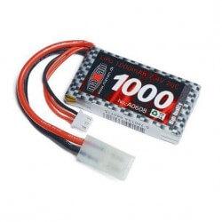 Batterie 7.4 V 1000mAh Lipo 20C Bateau MHD - Josway