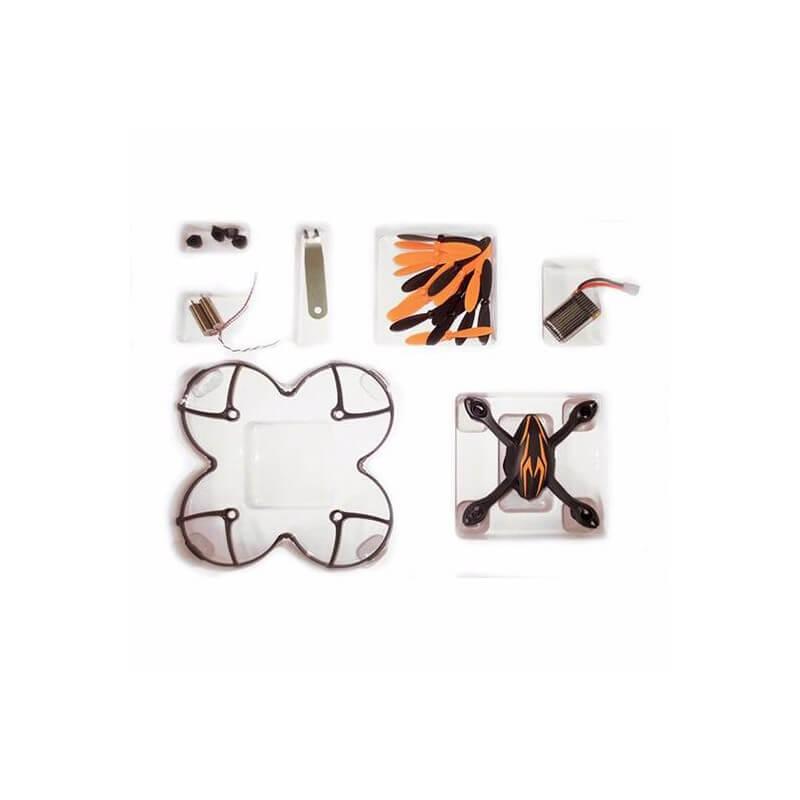 Crash kit Hubsan X4 H107 Matt black -  avec Tee shirt