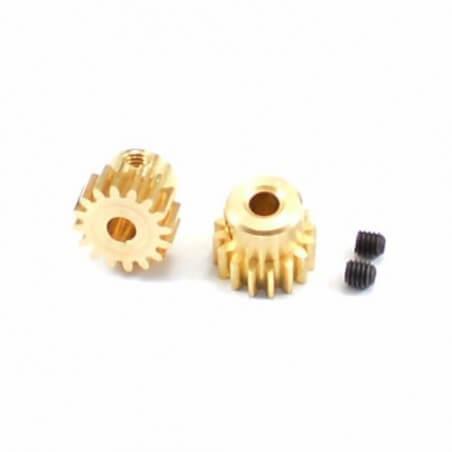 Optimisation: Pignon 16T x 2 pour Moteur Brushless FTX SURGE 1/12 - FTX7322