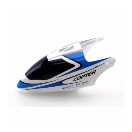 Cokpit blanc et Bleu pour WLTOYS V911