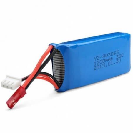 Batterie 7.4V 1400mAh Wltoys L959, L212, L202, L222