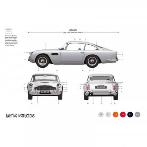 Coffret Maquette Voiture Aston Martin DB5