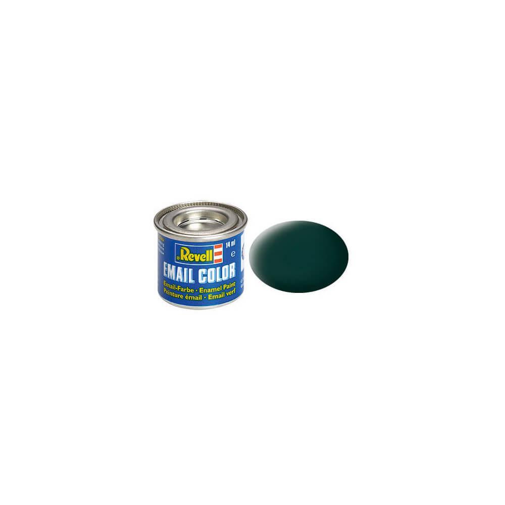 Peinture Laque Noir Mat peinture noir vert mat - revell 32140