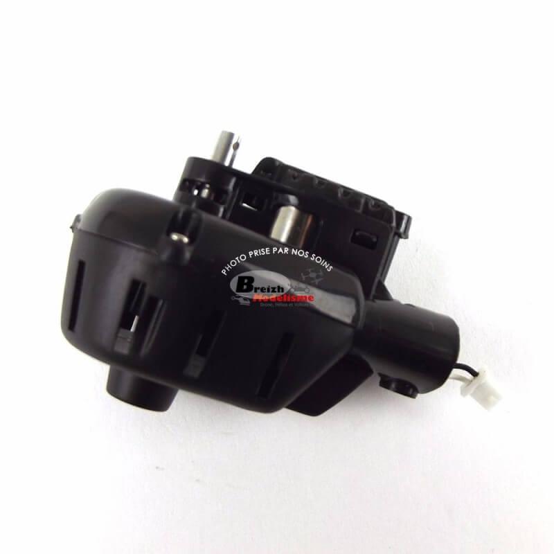 Support moteur NOIR avec fil moteur Noir et Blanc MJX X600