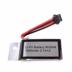 Accu batterie Lipo 1000 mAh 7.4 V AM X51 - U829A