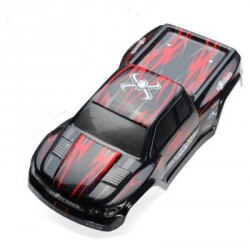 Carrosserie ROUGE Blackzon 15-SJ01 - Funtek MT12