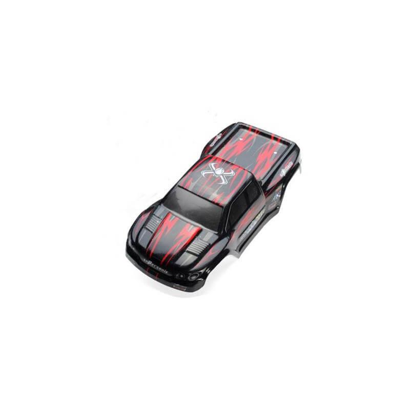Carrosserie ROUGE Blackzon 15-SJ01 - Funtek MT12