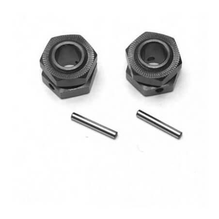 Z63312243 - Hexagones + écrous roues V2 - MHD GUNNER BL