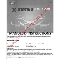 Notice compléte en Franéais du MJX X101 - Envoi par courrier