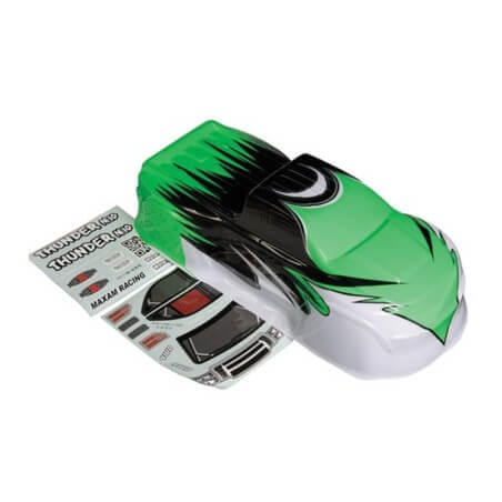 Carrosserie Verte Peinte Monster Thunder M10 - 1/10