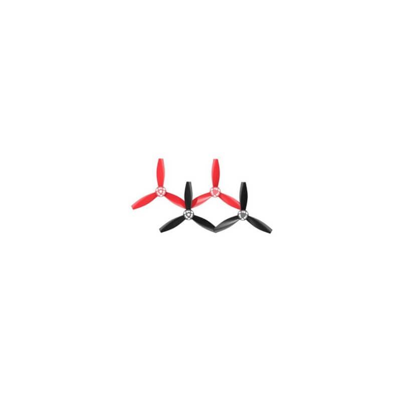 Tripales Rouges et Noires pour drone PARROT Bebop 2 PF070219AA